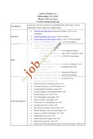 Job Resume Format College Students by Good Resume Example College Student Good Resume Examples For
