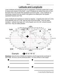 latitude and longitude worksheet latitude longitude worksheets