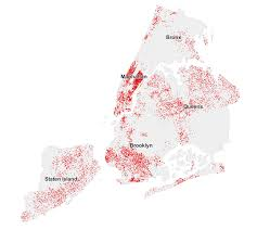 Map Of Nyc Neighborhoods See Who Didn U0027t Vote For De Blasio Maps Huffpost