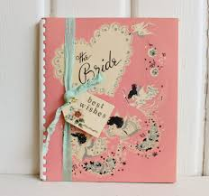 bridal gift wedding ideas wedding planner book gift charming vintage