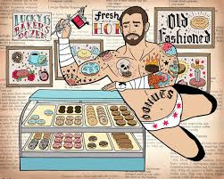 cm punk u0027s new finishing move is the donut tattoo