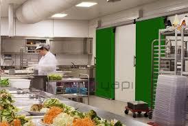 chambre froide restaurant porte pour chambre froide d intérieur coulissante en composite