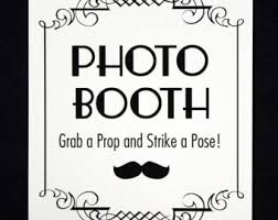 Photo Booth Sign Diy Printable Pdf Photo Booth Sign Photo Booth Prop