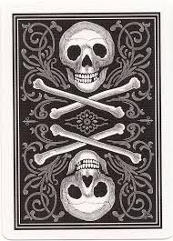 skull and bones cards
