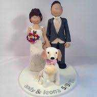dog wedding cake toppers family pet cake toppers totally toppers