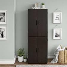 black kitchen pantry cupboard 4 door kitchen storage cabinet pantry cupboard organizer furniture shelves