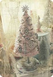 chic christmas tree decorating ideas shabby chic christmas
