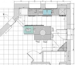 dimension ilot cuisine ilot central cuisine dimension get green design de maison