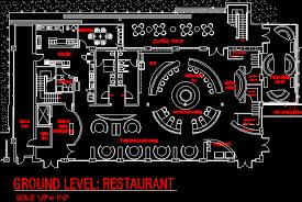 San Diego Restaurant Concept Floor Plan C O M M E R I C A L