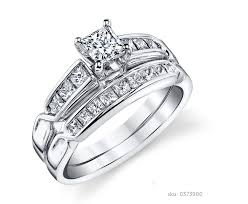bridal ring set diamond wedding ring set wedding corners