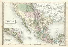 map of mexico and california mexico california geographicus antique maps
