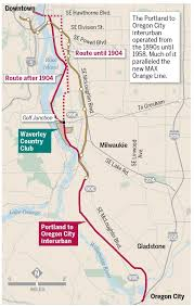Oregon City Oregon Map by Past Tense Oregon New Max Line Recalls Of Portland U0027s First And