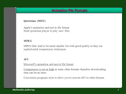 file format quicktime player multimedia authoring1 animation animation file formats animated gif