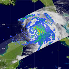 Colorado Mills Map by Nasa Hurricane Season 2008 Hurricane Ike Atlantic Ocean