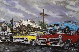 car junkyard netherlands cars doomstead diner
