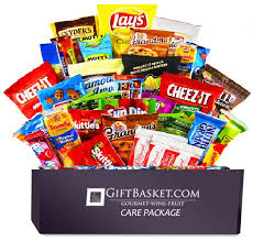 snack gift basket ultimate snacks variety box chips cookies candy assortment