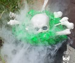 smoke machine halloween halloween diy glow in the dark smoking cauldron 10 steps with
