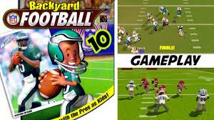backyard football u002710 gameplay ps2 hd youtube
