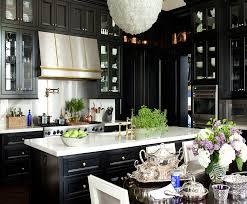 Gold Kitchen Cabinets - kirsten kelli black kitchen 100 jpg