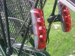 rear bike light rack mount mudguard mounted rear lights cycling uk forum