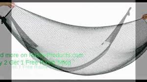 hammock net style black portable sleeping hang net bed meshy