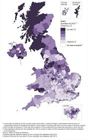 expectancy at birth and at age 65 by local areas in the