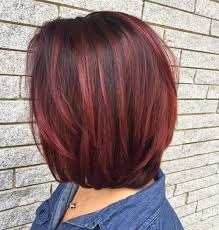brunette hairstyle with lots of hilights for over 50 30 hot red highlights to add to your hair bucket list