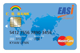 bank prepaid cards mastercard and cb bank announce prepaid travel card in myanmar