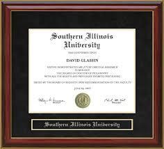 of illinois diploma frame southern illinois mahogany diploma frame wordyisms