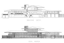 frank lloyd wright plans scintillating robie house plan contemporary best idea home