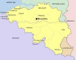 belguim map part ii belgium our lives in europe