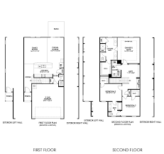 Barrington Floor Plan Barrington Model U2013 3br 3ba Homes For Sale In Durham Nc U2013 Meritage
