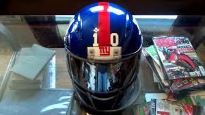 new york giants motorcycle helmet custom painted by www airgraffix