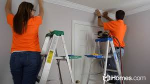 Diy Molding by Homes Com Diy Experts Share How To Install Crown Moulding Youtube