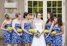 print bridesmaid dresses 8 ways to dress your bridesmaids in floral prints