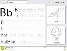 Free Alphabet Tracing Worksheets Cartoon Bat And Balloon Alphabet Tracing Worksheet Writing A Z