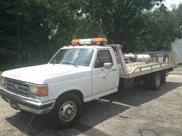 used ford tow trucks for sale sell used 1987 ford f350 rollback tow truck in voorhees