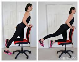 Office Chair Workout Leg Exercises You Can Do From Your Office Chair
