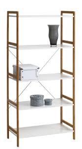 Rek Bookcase Rek Broby 5 Schappen Bamboe Wit Jysk Huis Ideetjes Pinterest