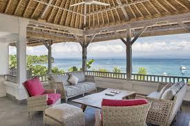 Livingroom Lounge by Villa Coral 4 Bedrooms Nusa Lembongan Bali Openair