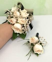 boho luxe black u0026 cream blush wrist corsage prom corsage boho от moonflowernatureart