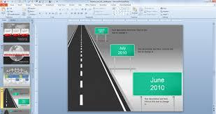 free roadmap powerpoint template mershia info