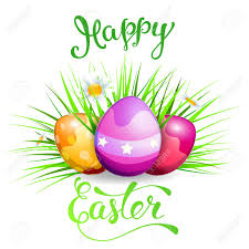 easter greeting cards easter greeting card with easter eggs and original text happy
