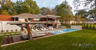 appmon geometric midcentury modern tributary pools amp spas with projects pool house design