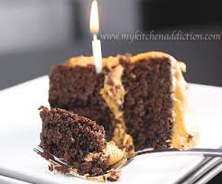 chocolate cake with salted caramel frosting u2013 my kitchen addiction