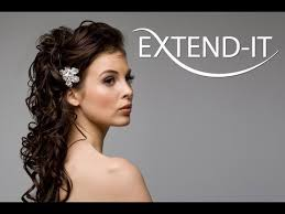 temporary hair extensions for wedding how to do a bridal updo with extend it clip in extensions pt 2 2