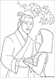coloriage mulan disney coloring pages