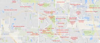 Vcu Map The Judgmental Map Of Buffalo Grove Illinois