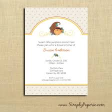fall pumpkin baby shower invitations simply paperie