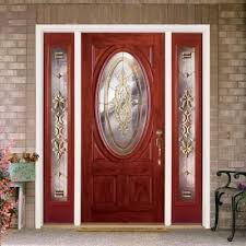 Feather River Exterior Doors Feather River Doors 63 5 In X81 625in Silverdale Brass 3 4 Oval Lt